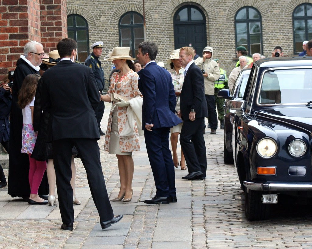 Frederik and Mary Visiting Roskilde Cathedral