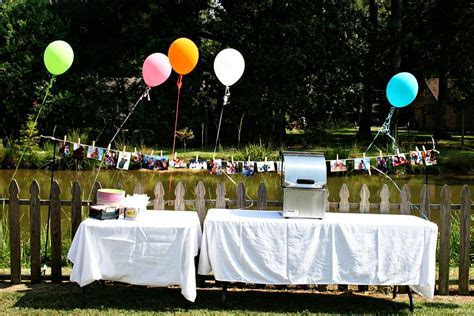 backyard bbq wedding ideas   The Sweetest Occasion ? The