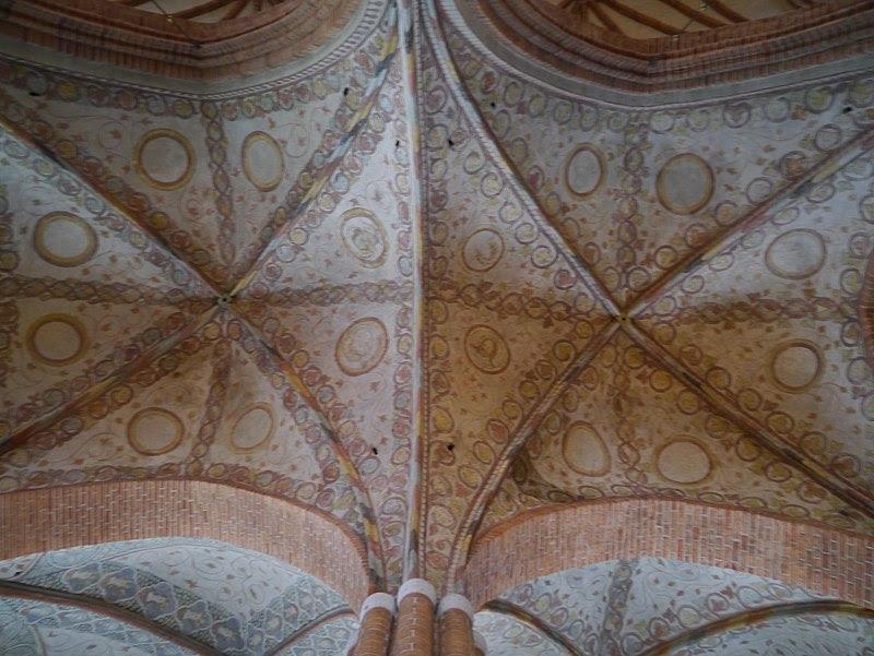 Stockholm Storkyrkan Innen Seitenschiff Gewölbe.JPG
