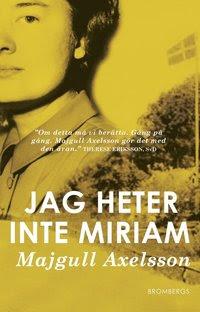 Bokomslag Jag heter inte Miriam (storpocket)