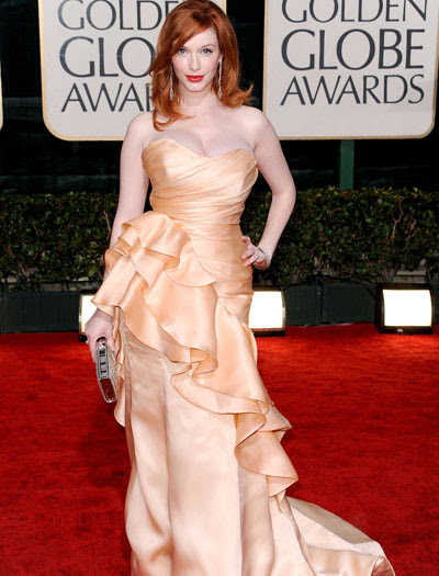 Christina Hendricks - Globes1