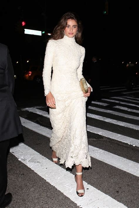Taylor Hill   Arriving at the Ralph Lauren 50th