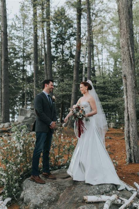 DIY New England Summer Camp Wedding at Wohelo   Junebug