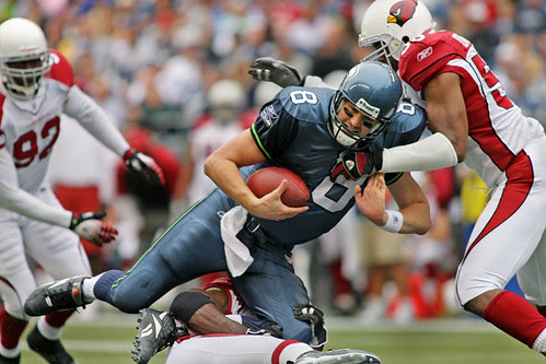 Hasselbeck Sacked