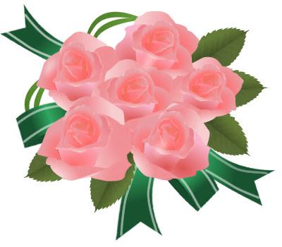 バラ イラスト花束 画像フリー素材無料素材倶楽部 薔薇の花イラスト