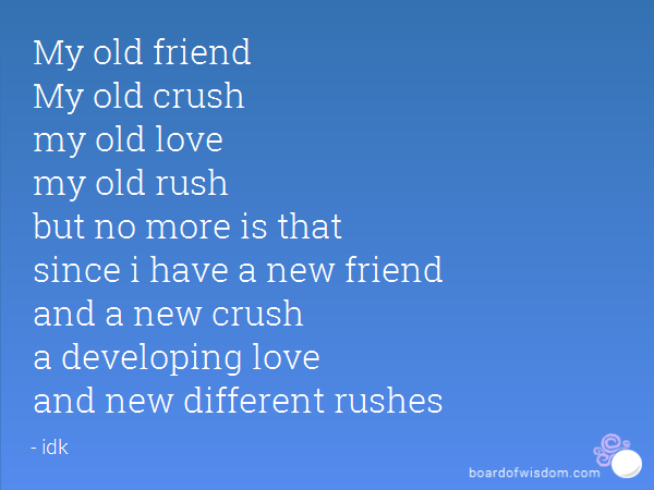 Quotes About Old Crushes 33 Quotes