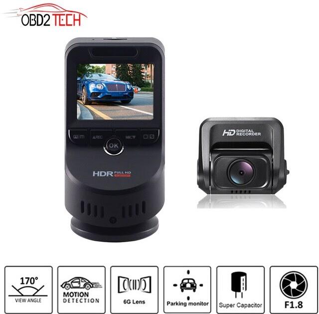 T691C 2 Inch 4K 2160P//1080P FHD Dash Cam 170 Degree Lens Car DVR Camera