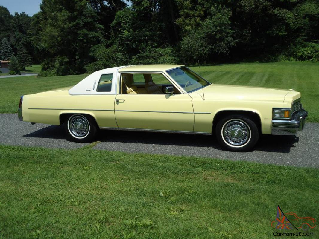 1977 Cadillac Coupe Deville Factory Fuel Injection 30,000 ...