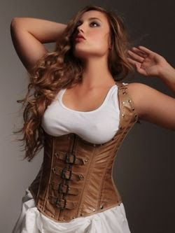 Hips and Curves Vivienne Steel Boned Underbust Corset