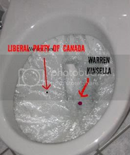 LIBERAL PARTY BEING FLUSHED