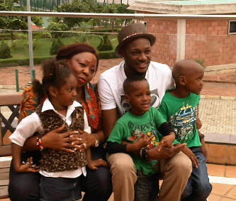 Image result for tuface idibia family