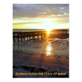 Florida Sunshine State of Mind Postcards