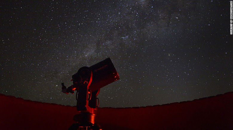 Namibia offers stunning views of the Milky Way.