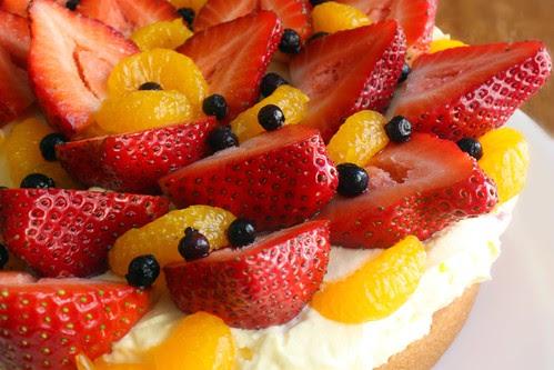 fresh fruit detail