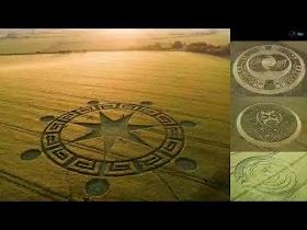 ¿Mensajes secretos en Agrogramas y crop circles? Luna Blu