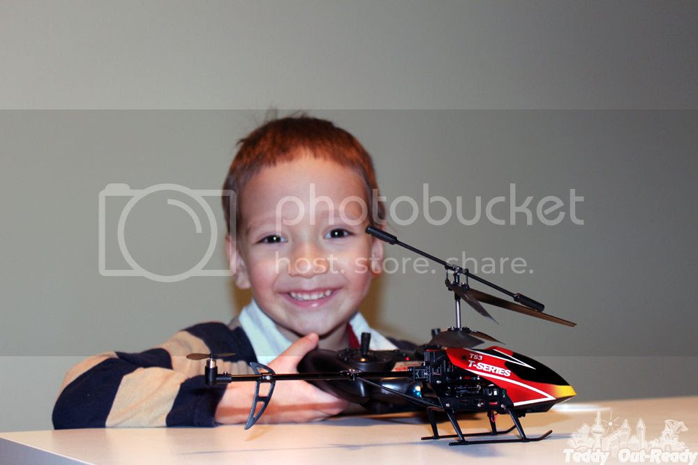 MJX T53 High Performance Helicopter Teddy