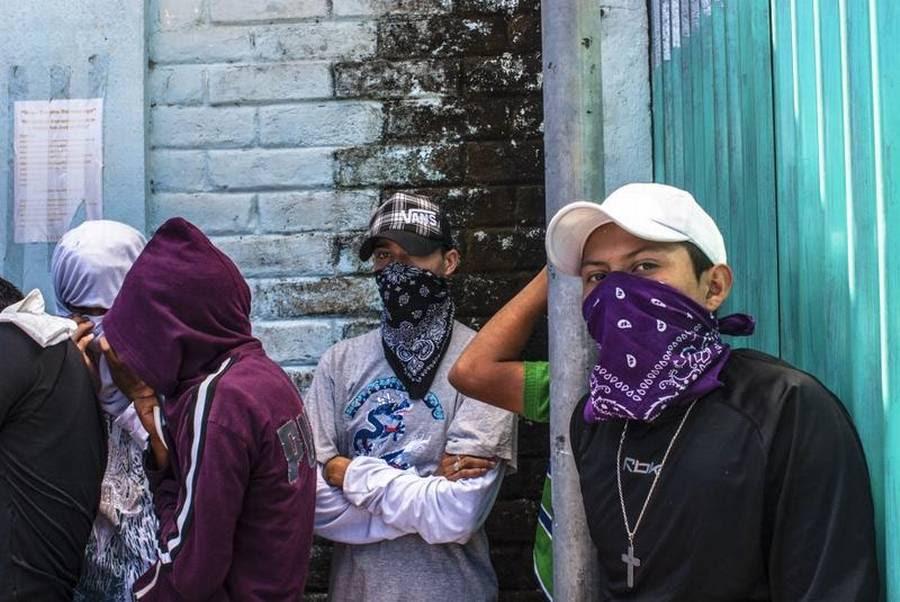 Mara Salvatrucha, der blev skabt af veteraner og flygtninge fra borgerkrigene i Mellemamerika i 1980'erne, er verdens værste bande. (Foto: All Over Press)