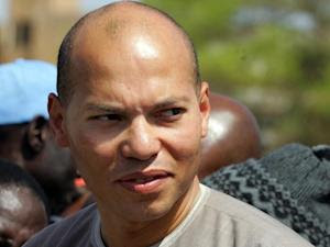 A photo taken on March 8, 2008 shows Karim Wade, the…