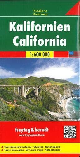 Descargar California  Mapa De Carreteras  Escala 1 600 000
