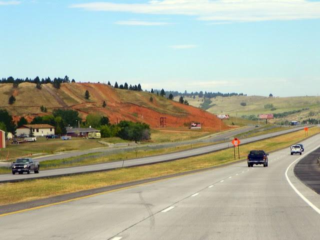 Rapid City, South Dakota to Devils Tower, Wyoming