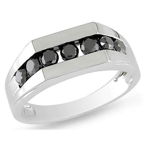 mens white gold black diamond wedding bands wedding