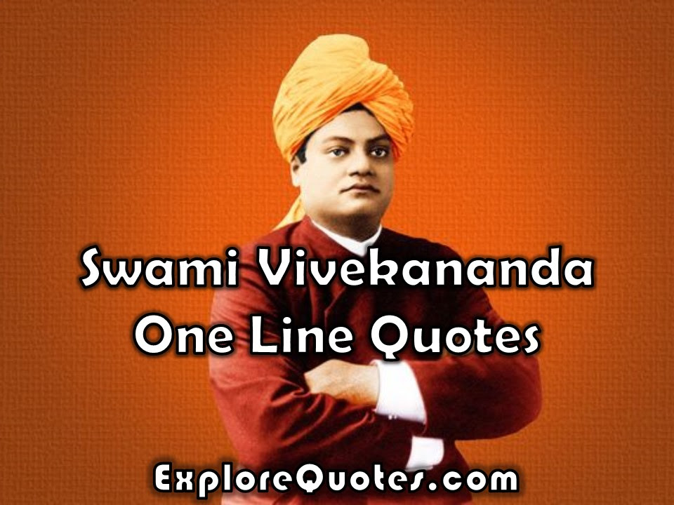 Best Ever Swami Vivekananda Good Thoughts In English In One