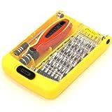 ルートアール iPhone用ビット付き 38in1 精密ドライバーセット 延長シャフト RT-6088AM