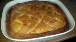 Delicious creamy pie !