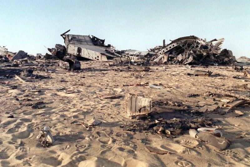 Wreckage from UTA772