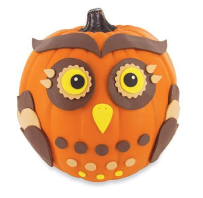 I think I'm going to make this one WHAT A HOOT!!! Craft Smart® Owl Pumpkin