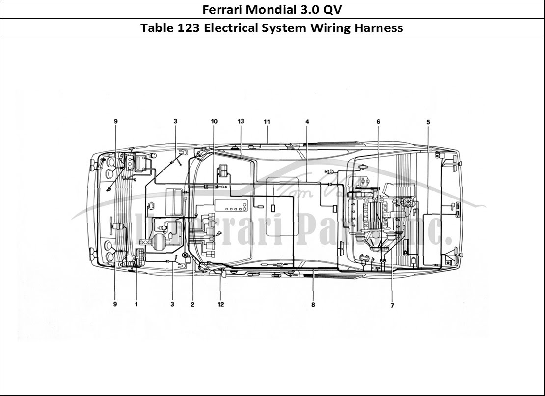 Ferrari Electrical Wiring Diagram