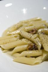 Penne al Gorgonzola con Noce, Caffé Classica, ecute Shinagawa