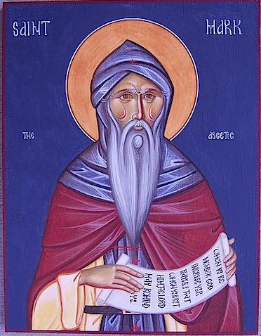 ST. MARK the Ascetic, Triglinus