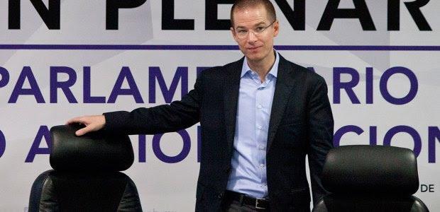Ricardo Anaya, presidente del PAN. Foto: Eduardo Miranda