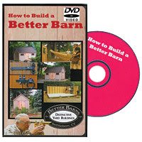 How to Build a Better Barn DVD