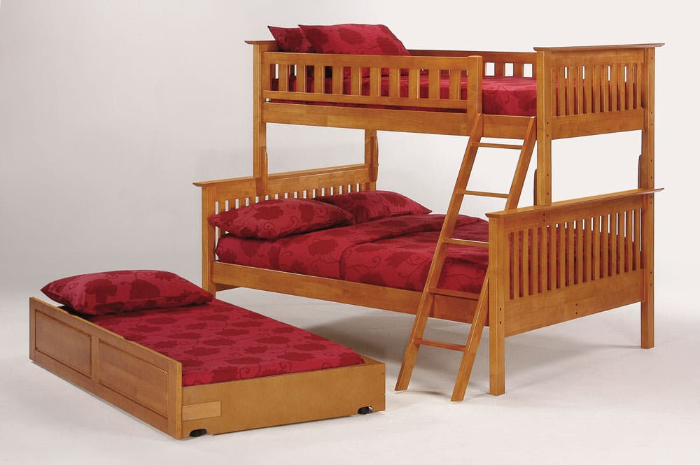Mission Bunkbed Twin Over Full by J\u0026M Furniture