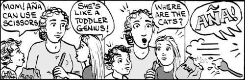 Home Spun comic strip #390