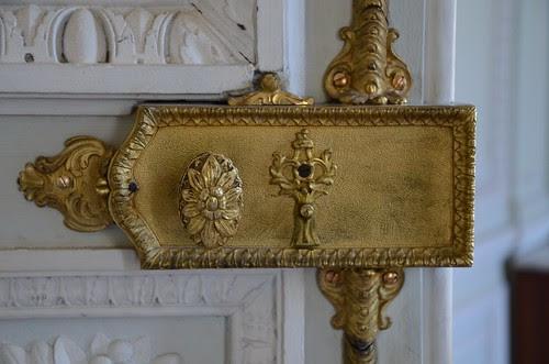 17th century lock, Petit Trianon, Versailles