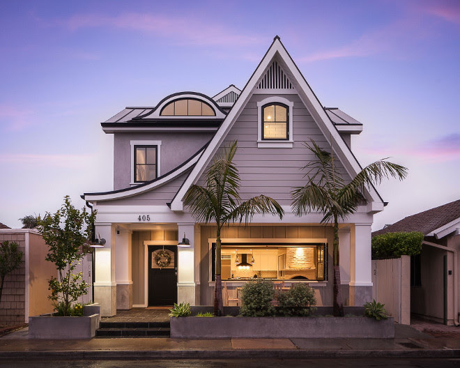 Small Lot California Home With Farmhouse Interiors Home Bunch