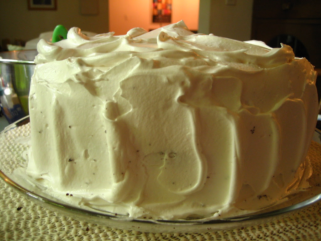 ECL's Devils Food White Out Birthday Cake!