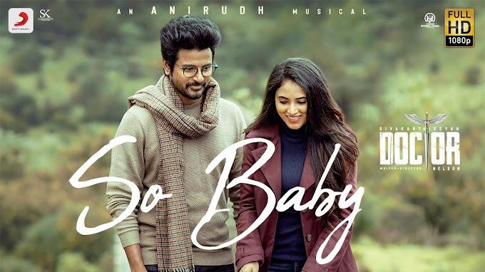 So Baby Lyrics - Doctor Lyrics in Telugu and English