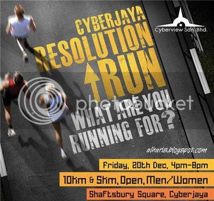 Cyberjaya Resolution Run 2013