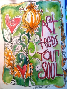 Art Frees Your Sould