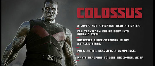 deadpool movie character profile -- colossus