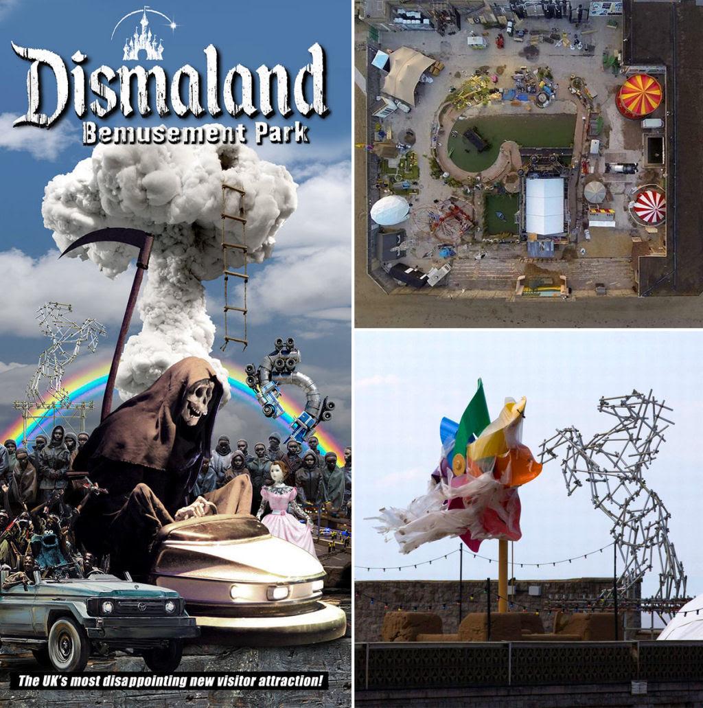 Dismaland, por Banksy: esta é a versão obscura da Disneylândia 05