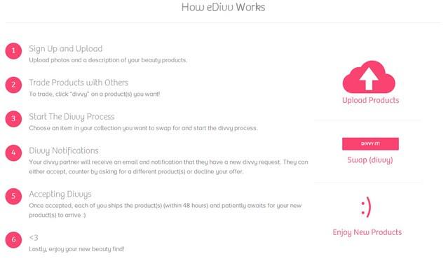 How eDivv Works Screenshot