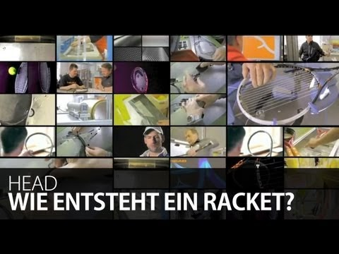 How Head tennis rackets are made.