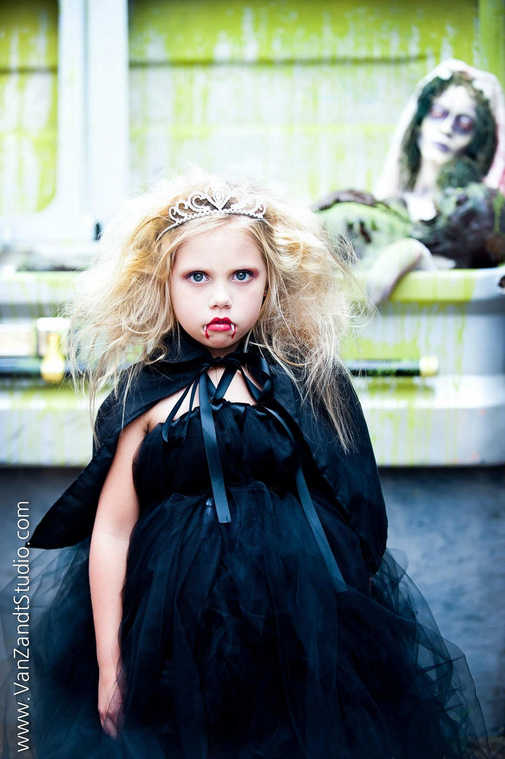 Vampire Diva Set, Halloween, Boutique Style, Costume, Pageant wear, size NB-24 months, sizes 2, 3, 4, 5, 6 7,8 - corrinacreations