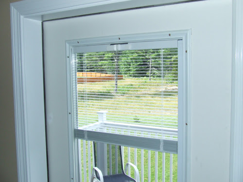 French Doors With Built In Blinds Between The Glass