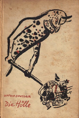Grosz cover for Sinclair book, from the collection of Richard Sica